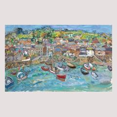 mousehole, harbour, linda ,weir