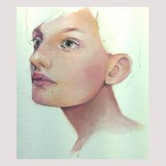 Lisa Mae Evans - Self portrait